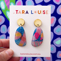 STATEMENT ABSTRACT ART EARRINGS