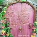 Shimmer Butterfly Fairy Door