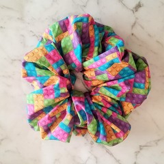 XLarge Scrunchies - Kiah / Scrunchies / Jumbo Scrunchies / Brick Scrunchies