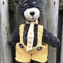 Teddy Bear, Amigurumi, Stuffed  Animal, Softie