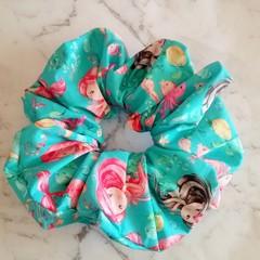 XLarge Scrunchies - Collette / Scrunchies / Jumbo Scrunchies / Mermaid Scrunchie