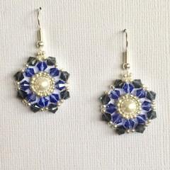 Swarovski Crystal Earrings: Lucerne