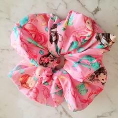 XLarge Scrunchies - Ruby / Scrunchies / Jumbo Scrunchies / Mermaid Scrunchies /