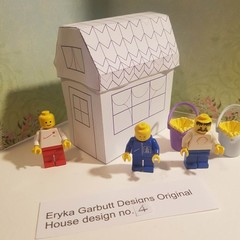 DYI construct your own minature house. Hours of fun for children of all ages. 4