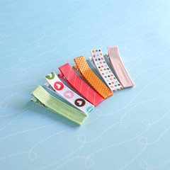 Set of 6 Gorgeous Hair Clips | Ivy