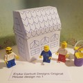 DYI construct your own minature house. Hours of fun for children of all ages. 1