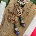Spiritual Serpent Earrings