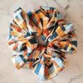 XLarge Scrunchies - Ryan / Scrunchies / Jumbo Scrunchies / Brick Scrunchies
