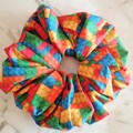 XLarge Scrunchies - Molly / Scrunchies / Jumbo Scrunchies / Brick Scrunchies