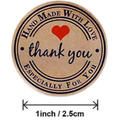 Thank you Handmade with Love, Especially for You, Stickers 50x Business stickers