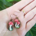 Fairytale mushroom Earrings