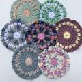 Beautiful Decorative Mats/Doilies or Kitchen Cloths- 100% Cotton