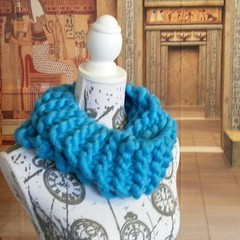 Infinity scarf snood cowl