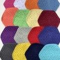 Crochet Trivet/Pot holder 100% Cotton - Set of 2