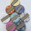 Set of 3 Crochet Face Scrubbies/Wipes 100% Cotton - various colours