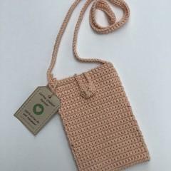 Mini Crochet Crossbody Bag 100% Cotton