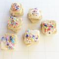 Fairy Bread,  Dollshouse Accessories, Food Miniature, food,  Polymer Clay Food,