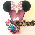 Minnie Mouse -Inspired 3D Letter