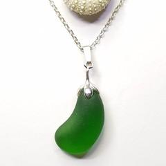Seaglass  - Emerald Jellybean