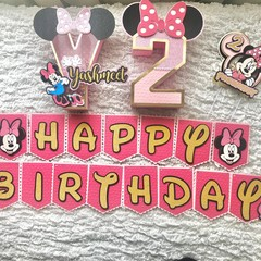 Minnie Mouse -Inspired Party Package