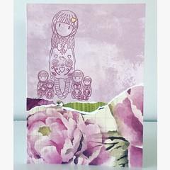 Little girls card