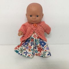 Miniland Dolls Knitted Cardigan to fit 21cm Dolls