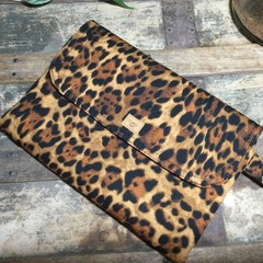 Nappy Wallet - Leopard Print
