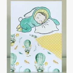 Snuggle bunny card