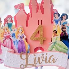 Disney Princesses 3D Caketopper