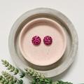 Animal Print Fabric Stud Earrings