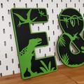 Dinosaur Letters
