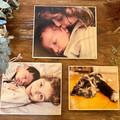 Wooden Photo Block, Personalised Photo Gift, Custom Photo Print