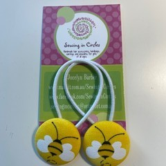 Buzzy bees hair ties