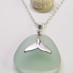 Seaglass - Seafoam Whale