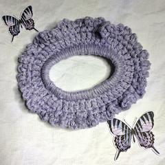 'A Sparkly Lavender Scrunchie'