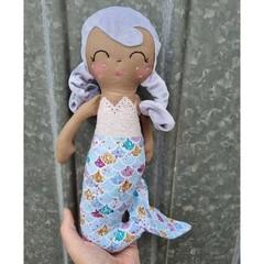 handmade mermaid doll