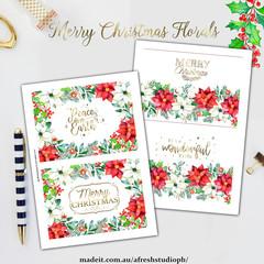 Christmas Florals AfreshDesignPB