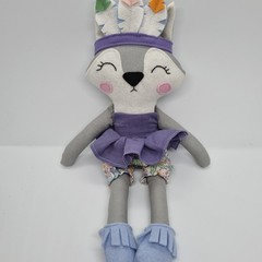 Rogue - wolf  doll