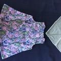 AUSTRALIAN KOALA AND BABY PINK COTTON DRESS AND MATCHING BIB NEW BORN