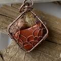 Untangled Web 4 Stone Pendant
