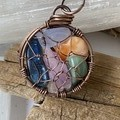 Truth of Heart 6 Stone Pendant