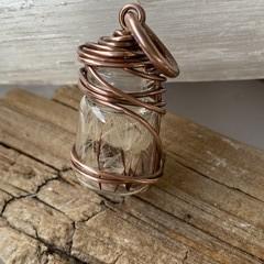 Jar of Falling Stars Wish Pendant