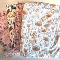 Floral Deer Baby Bedding Nursery Cot Quilt Set
