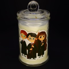 Harry Potter themed soy Candle - the Golden Trio