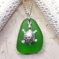 Seaglass - Emerald Turtle