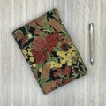 Australian Wildflowers A5 Fabric Notebook Cover / Compendium