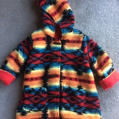 Cosy and warm sherpa jacket