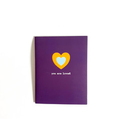 You Are Loved Notecard, Quote Card, Motivation/Inspiration