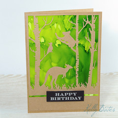 Happy Birthday, Unisex Birthday Card, Australian Animals, Native Animals