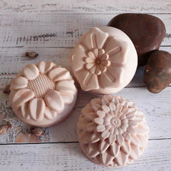 Sea Salt & Lavender Spa Bars - Handcrafted Soap - Luxurious - Natural